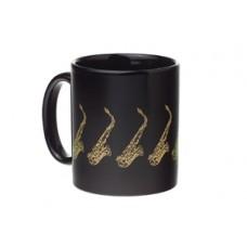 Mug Saxophone Black & Gold
