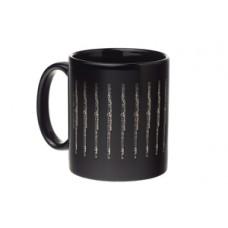 Mug Flute Black & Silver