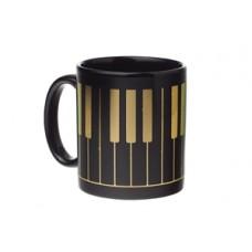 Mug Keyboard Black & Gold