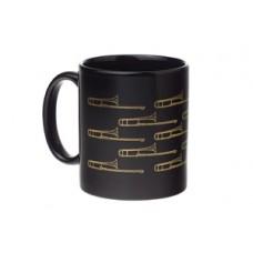 Mug Trombone Black & Gold
